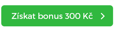 Tlačítko získat bonus 300 Kč