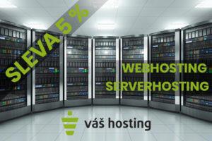 Váš hosting - sleva