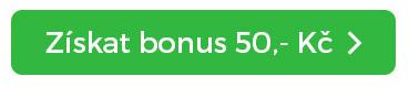Tlačítko získat bonus 50 Kč
